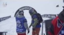 Kevin GURI - Backcountry Slopestyle run 1 - Swatch Skiers Cup 2014